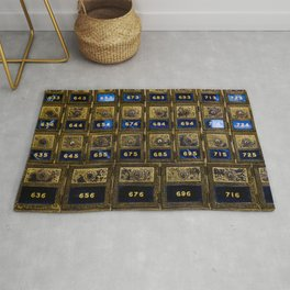 Post Office Boxes Rug