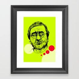 Lucio Dalla Framed Art Print