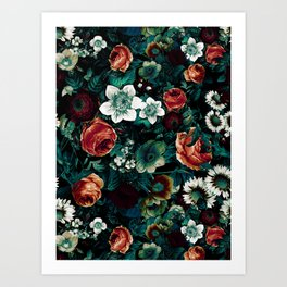 Midnight Garden VIII Art Print