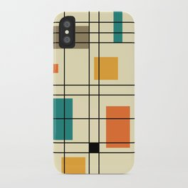 1950's Abstract Art iPhone Case