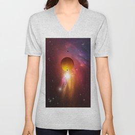 Star dust and interstellar gas. Unisex V-Neck