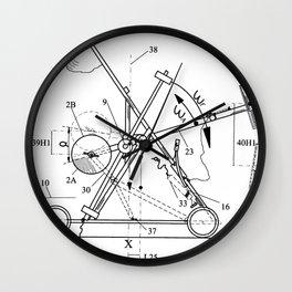 Inertial Mass Motion Wall Clock