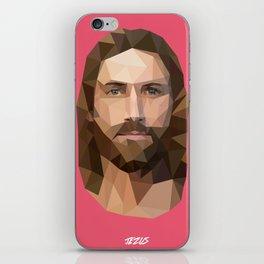 Jezus Digial Icon iPhone Skin