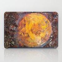lunar iPad Cases featuring Lunar  by Evan Hawley