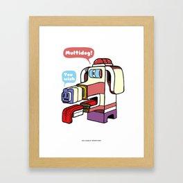 Multidog Framed Art Print