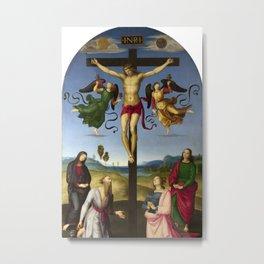 Raphael - Mond Crucifixion Metal Print