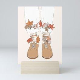 Autumn Walks Mini Art Print