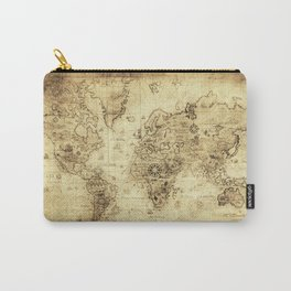 Old World map Carry-All Pouch