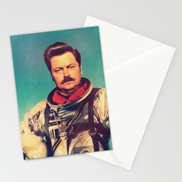 American Hero Stationery Cards