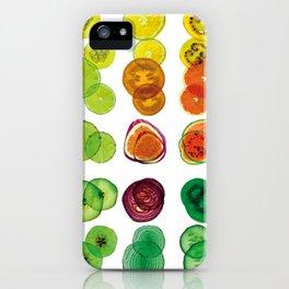 Salade de fruit YELLOWS iPhone Case