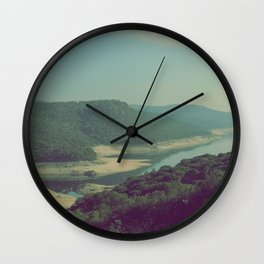 Vintage river Wall Clock