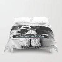 gizmo Duvet Covers featuring Gizmo lineup by Christophe Chiozzi