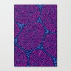 Tidepool Geo Canvas Print