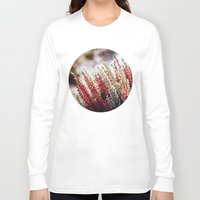 bokeh Long Sleeve T-shirts featuring Bokeh Flowers by Pati Designs