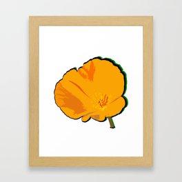DBM California Poppy 2 Framed Art Print