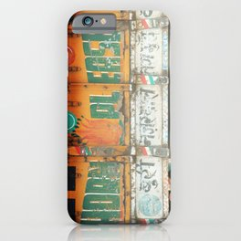 horn please! india truck sign iPhone Case