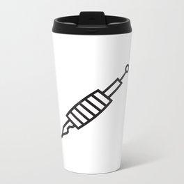 Needle Tattoo Machine Metal Travel Mug