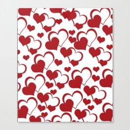 Valentines Pattern  Canvas Print