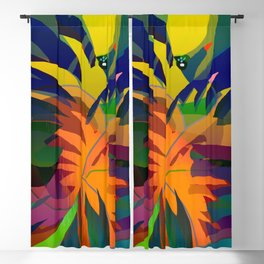 Tropical Sounds Blackout Curtain