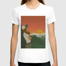 This is When Rocky Mountain Dreams Come True. T-shirt