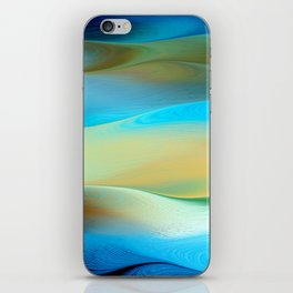 Dunes Collection - Blue  iPhone Skin