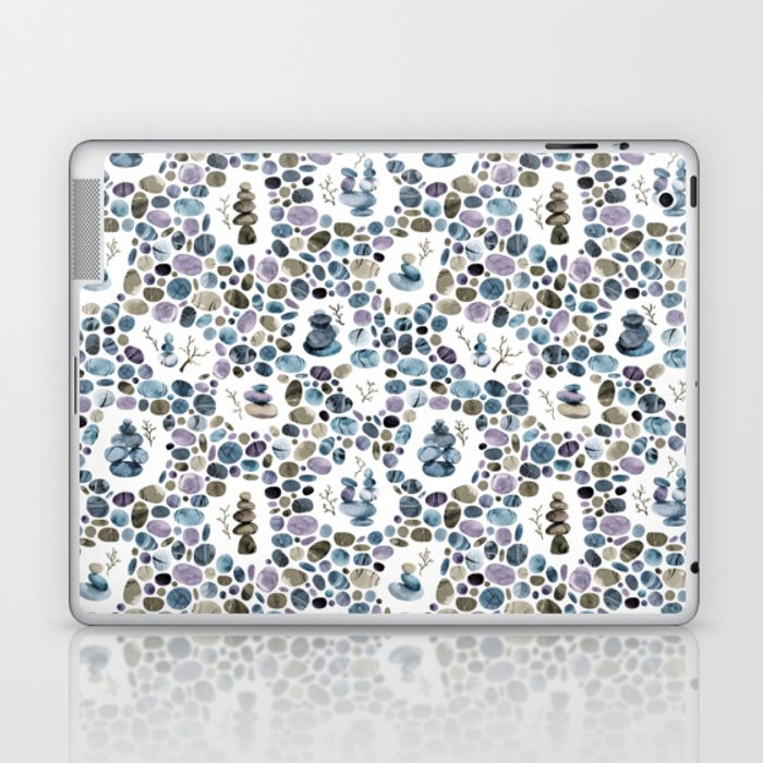 Wishing stones and cairns Laptop & iPad Skin