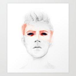 transparent Art Print