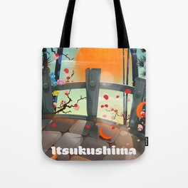 Itsukushima Japan Tote Bag