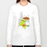 crocodile Long Sleeve T-shirts featuring Crocodile. by el Jeh