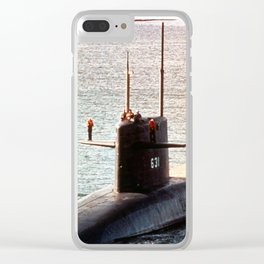 USS ULYSSES S. GRANT (SSBN-631) Clear iPhone Case