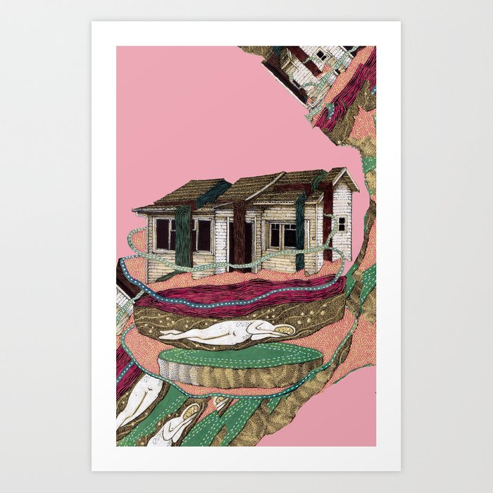 house deformation Art Print
