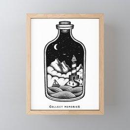 COLLECT MEMORIES Framed Mini Art Print