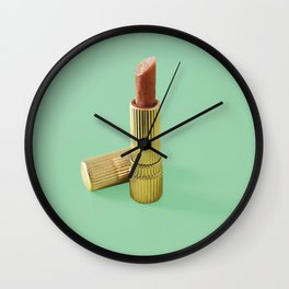 Meet stick Wall Clock