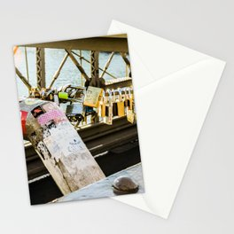 Love Locked in Brooklyn Stationery Cards