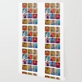 Zodiac pin-up Wallpaper