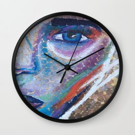 $ colorful coins $ Wall Clock