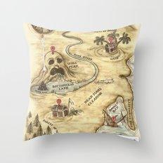 Did You Mean Treasure Island? Throw Pillow