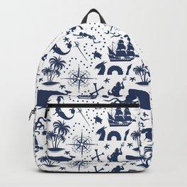 High Seas Adventure // Navy Blue Backpack