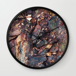 Shale. Wall Clock
