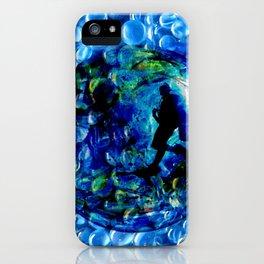Marble Sea iPhone Case