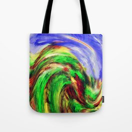 """Foresta"" Original Digital Art 2014 Tote Bag"