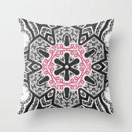 Shintoism Mandala Throw Pillow
