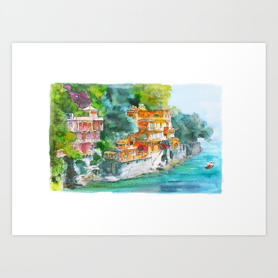 Dream place Art Print
