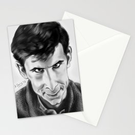 Norman Bates Stationery Cards