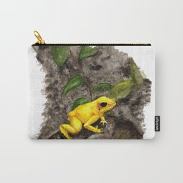 Golden Frog Carry-All Pouch