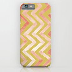 #02. Tierney (Chevrons, Gold variation for home accessories) iPhone 6s Slim Case
