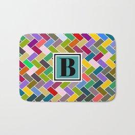 B Monogram Bath Mat