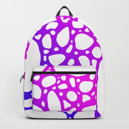 Purple Bubbles Backpack