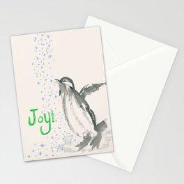 Joyful Penguin Stationery Cards