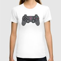 video games T-shirts featuring Support Women in Video Games by Inappropriately Adorable